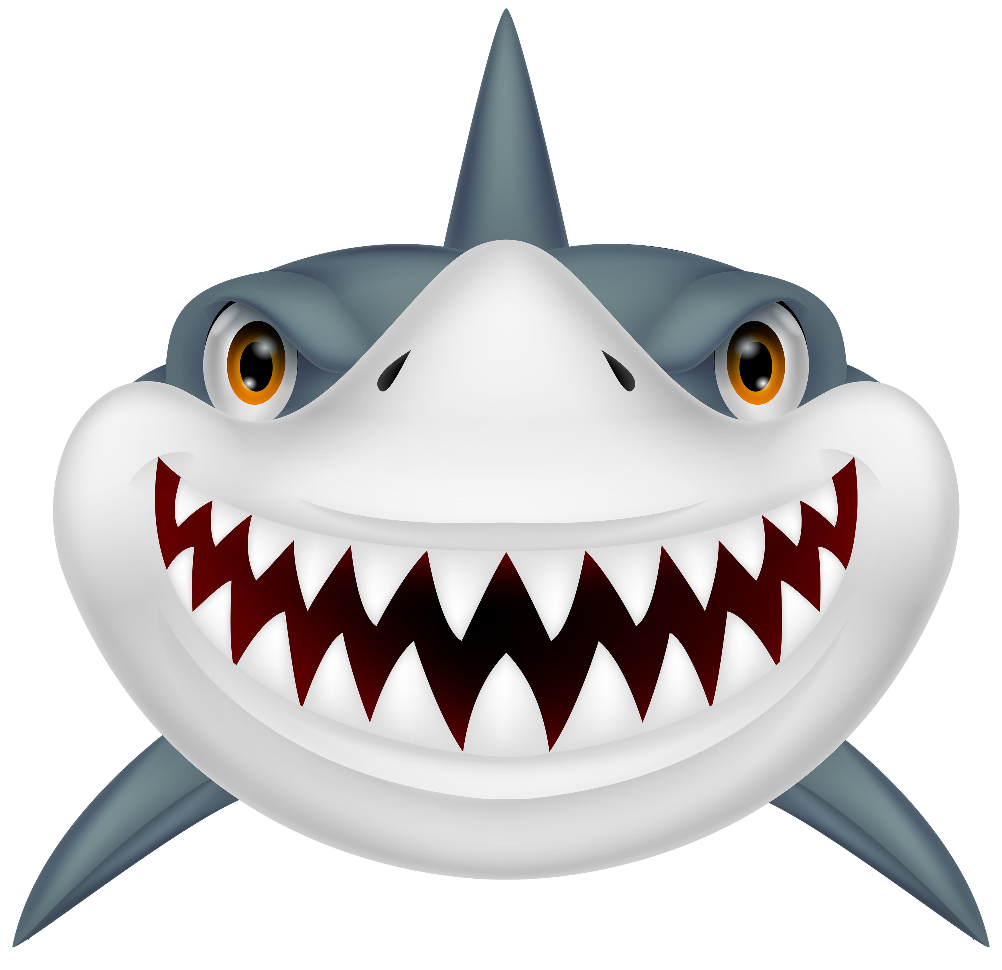 png Scary Shark PNG Clipart