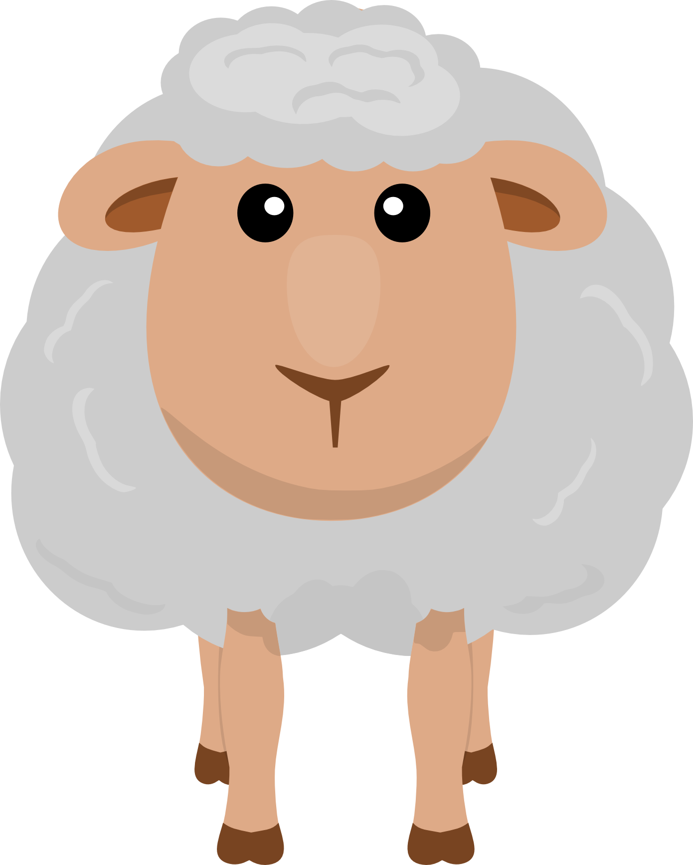 jpg library stock Nicubunu Sheep Clip Art Animals