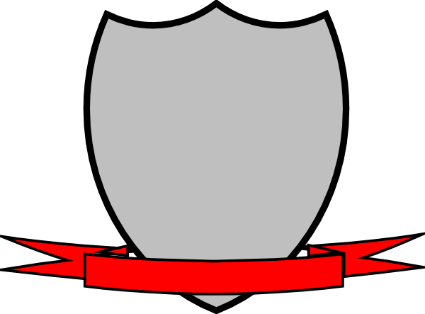 png transparent library Shield Ribbon Clip Art at Clker