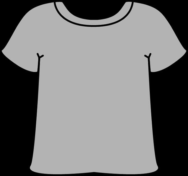 clipart library stock Short Sleeve Shirt Clipart