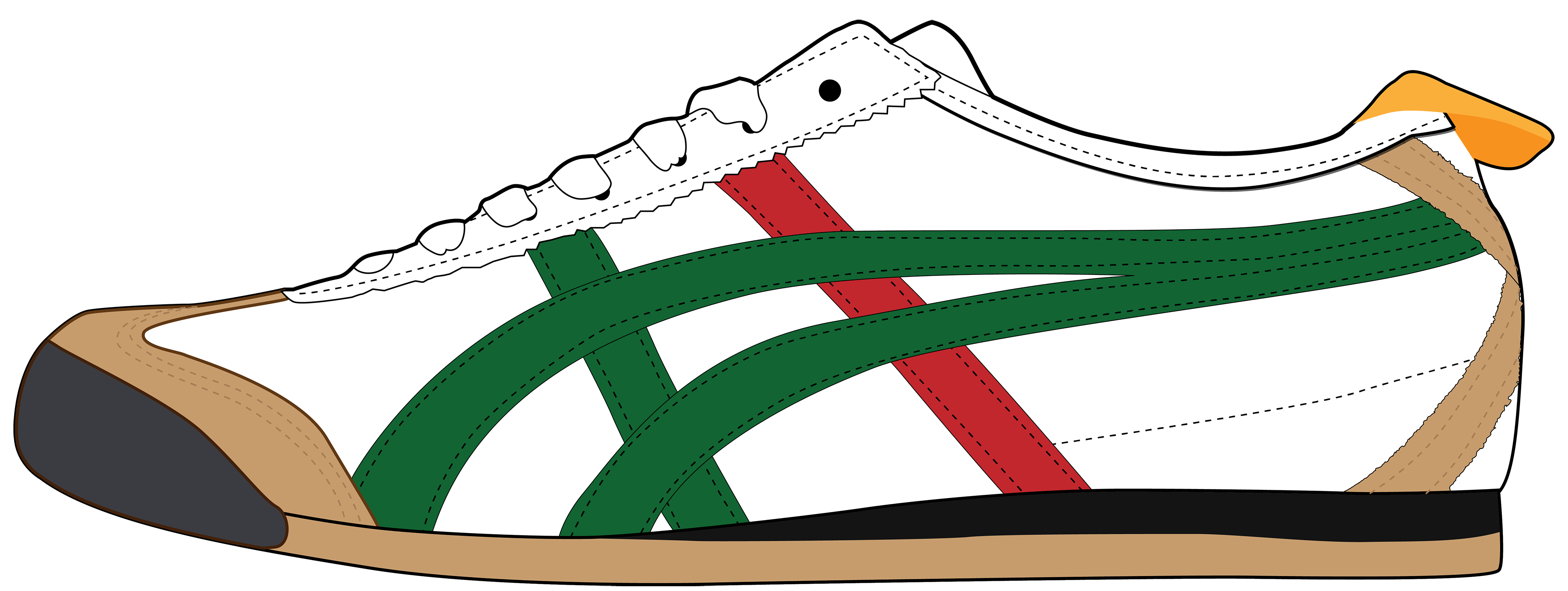 vector freeuse library Men shoes gym free. Shoe clipart