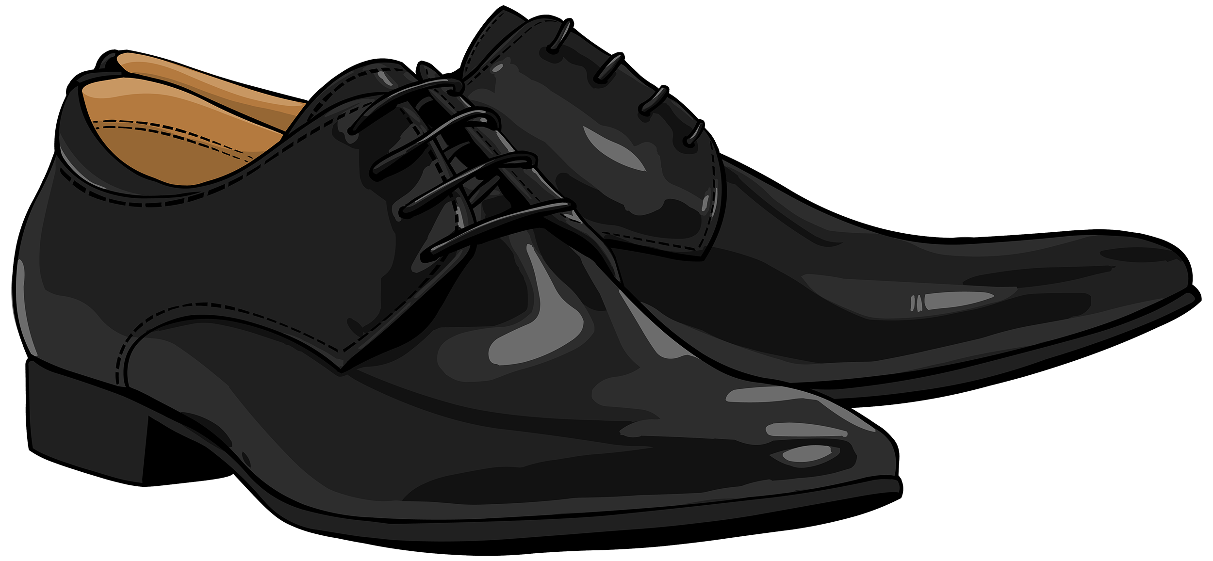 clip royalty free stock Black Men Shoes PNG Clipart