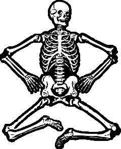 svg free download Human clip art at. Skeleton clipart.