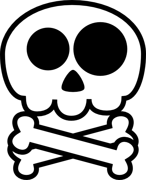 vector transparent library Skeleton clipart for kids. Cute .