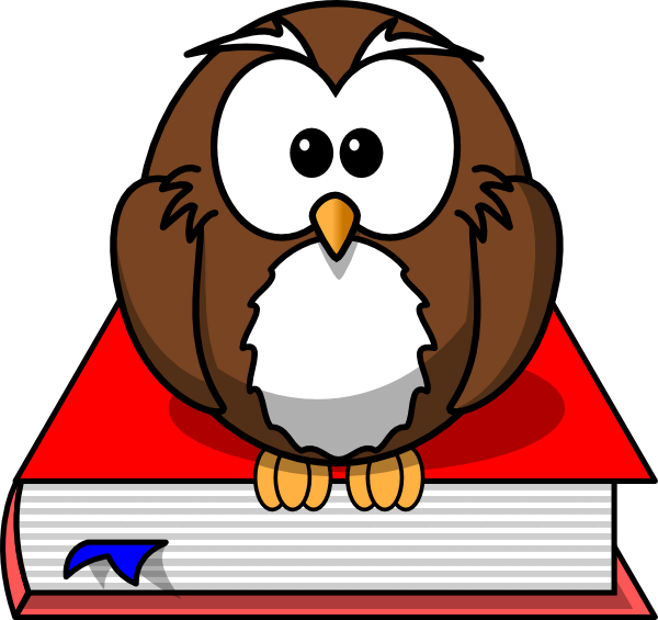 jpg transparent stock Smart Owl Clip Art at Clker