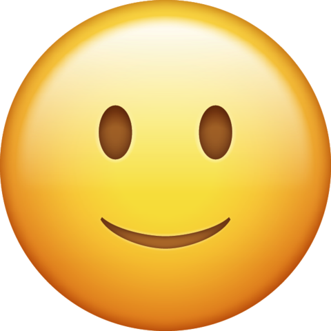 vector black and white Emoji face smile free. Smiling clipart.