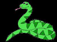 svg royalty free download Rainforest Snake Clipart