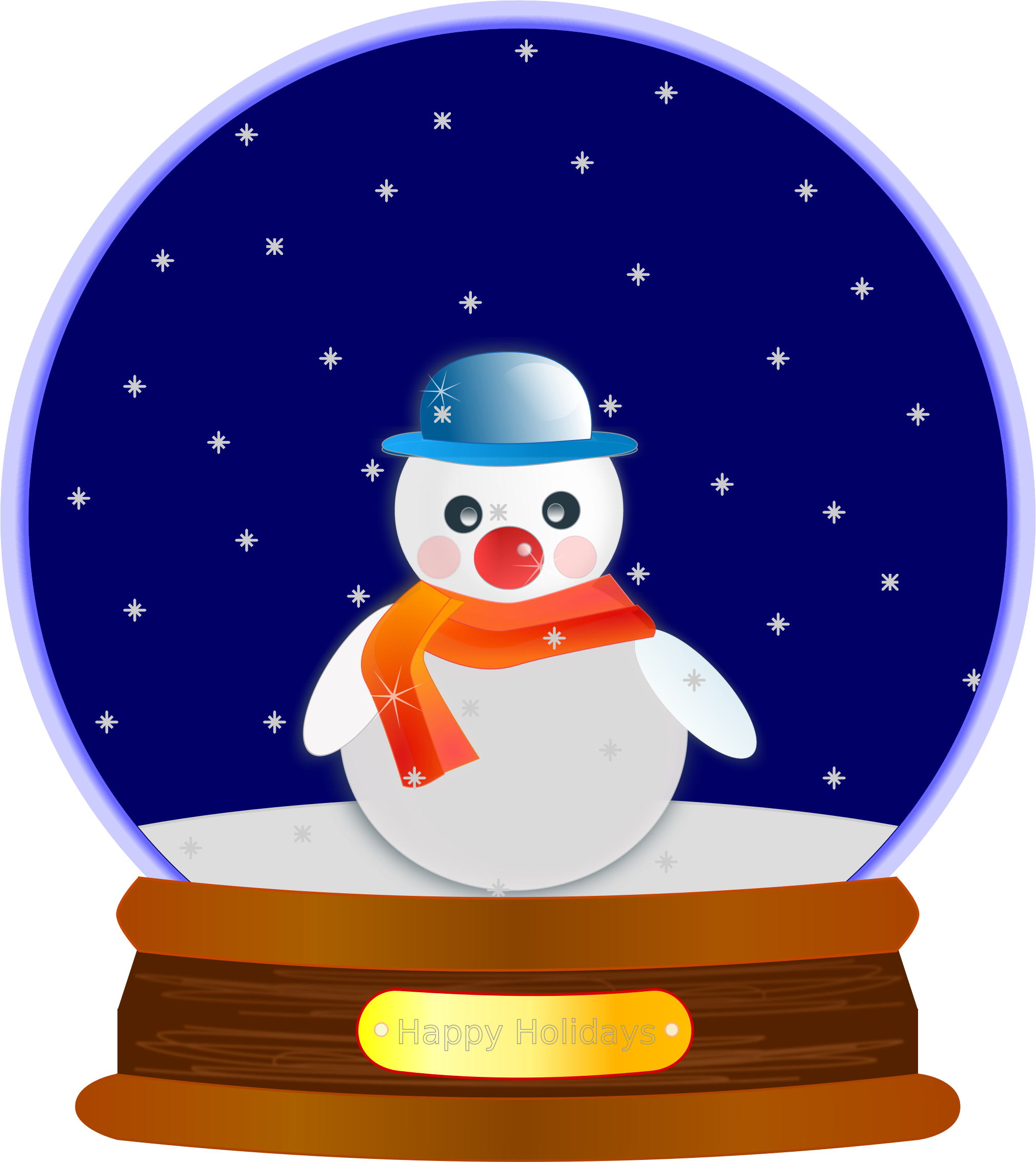 free library Moving clipart winter. Animated snow group globe.
