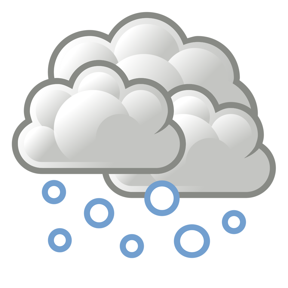 picture library library Snow Cloud Clipart