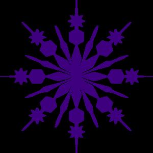 clip art freeuse download Snowflake Clipart Transparent Background
