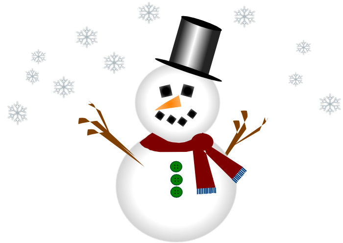 vector royalty free library Animated Snowman Clipart