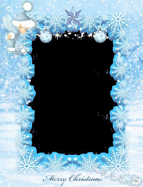 image royalty free Clipart snowflake border. Christmas transparent png borders