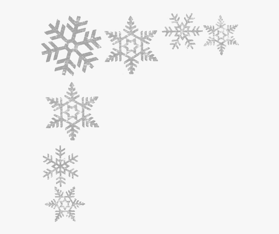 jpg royalty free stock Educaton harbour silver . Clipart snowflake border