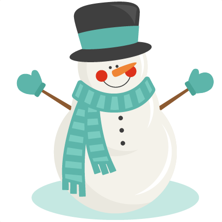 clip art royalty free library Winter svg scrapbook cut. Snowman clipart.