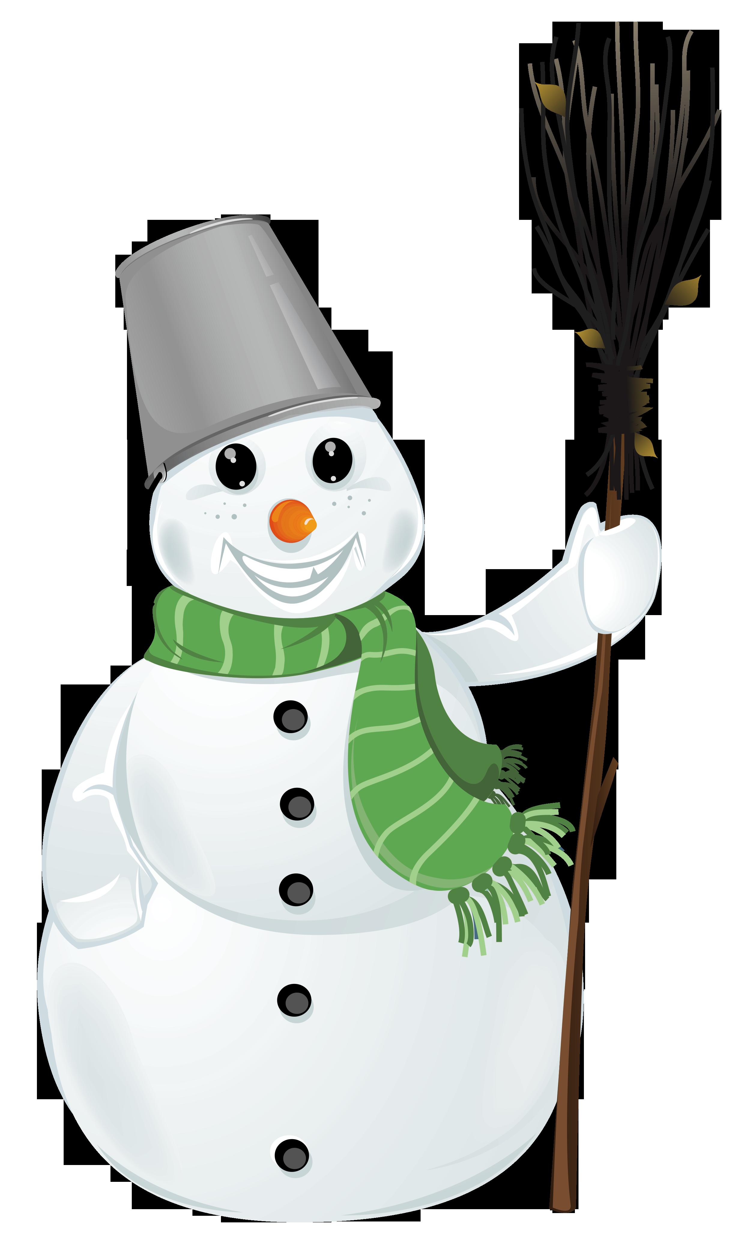 vector freeuse Transparent Snowman Clipart