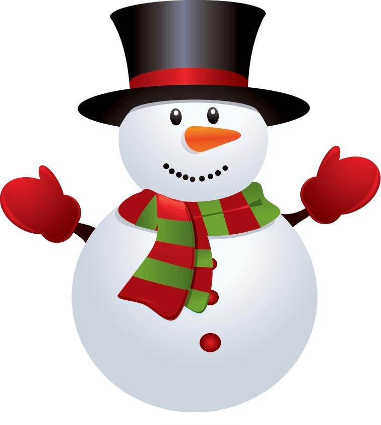 image transparent stock CHRISTMAS SNOWMAN CLIP ART