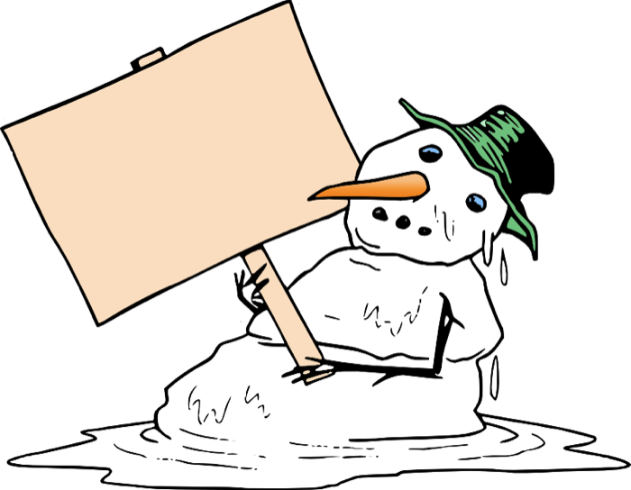 clipart black and white download Cute Snowman Graphics and Animations