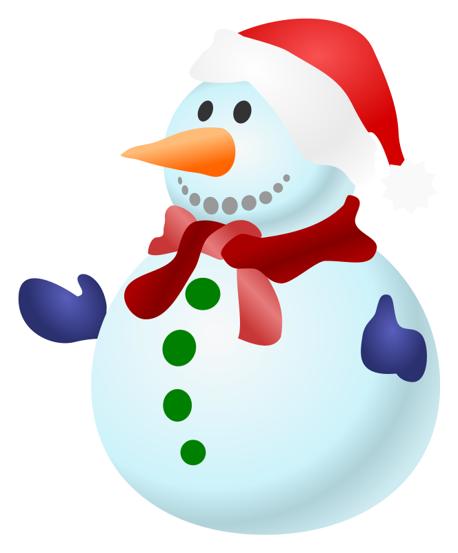graphic freeuse library Free snowman clipart images