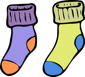 graphic freeuse stock Socks Clipart smelly sock