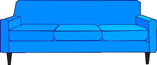 clip free download Clip Art Blue Sofa Clipart