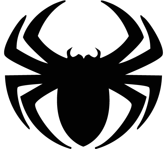 png Spider Clipart Three
