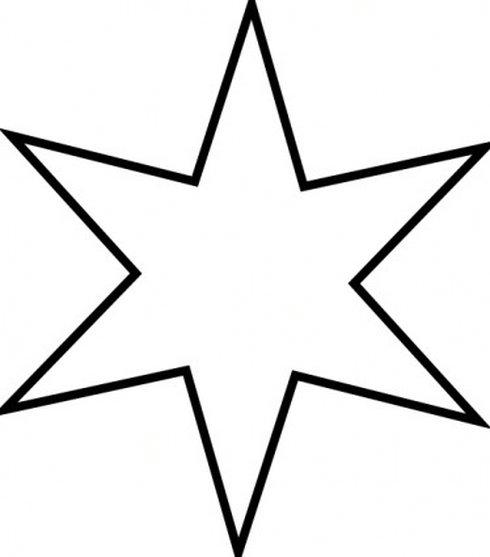 jpg Star parrot free . Black and white stars clipart