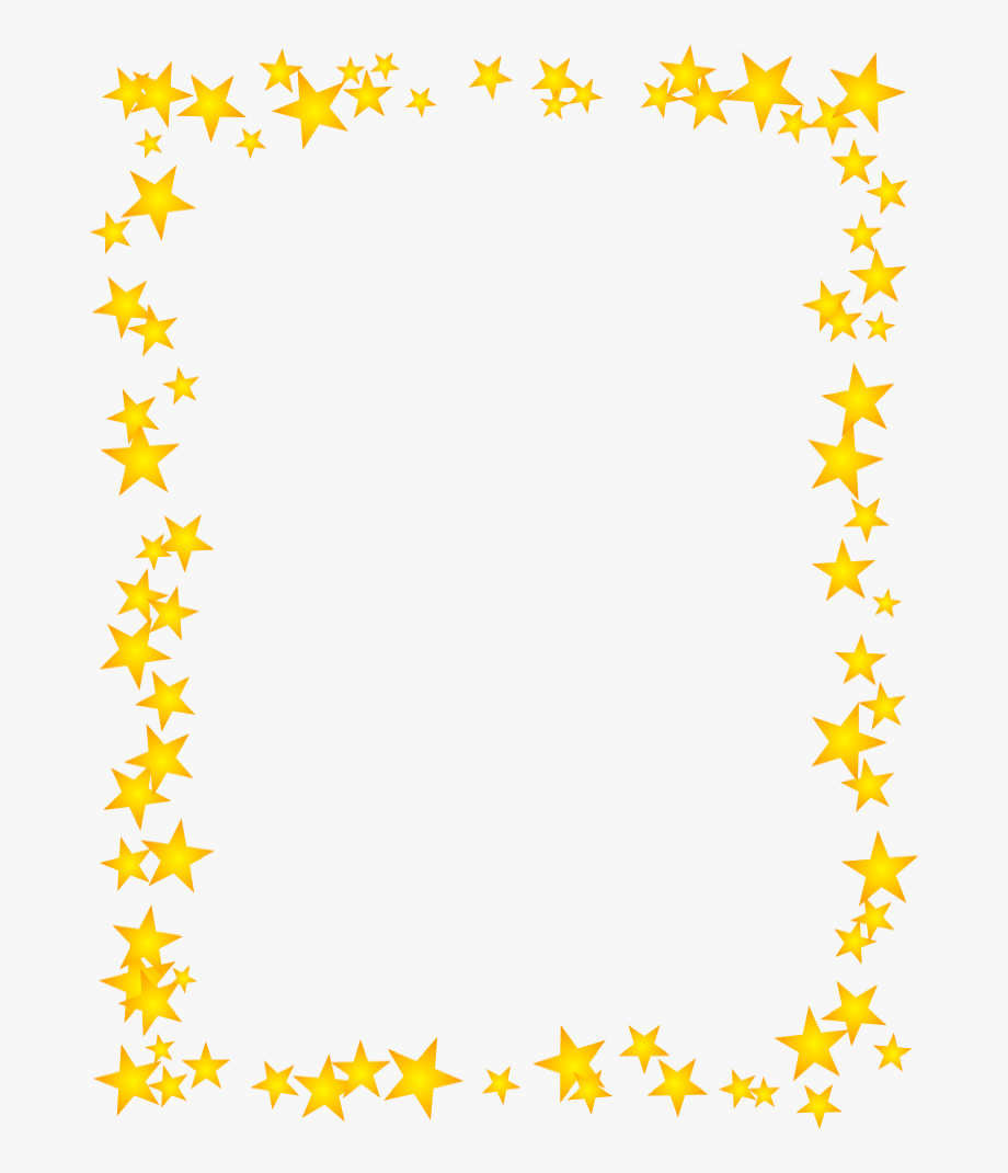 picture free Star boarder page border. Clipart stars borders