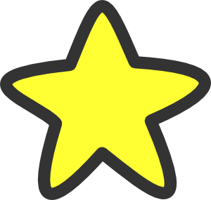 svg stock Cartoon Stars Clipart