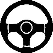 vector black and white stock Panda free images . Clipart steering wheel.