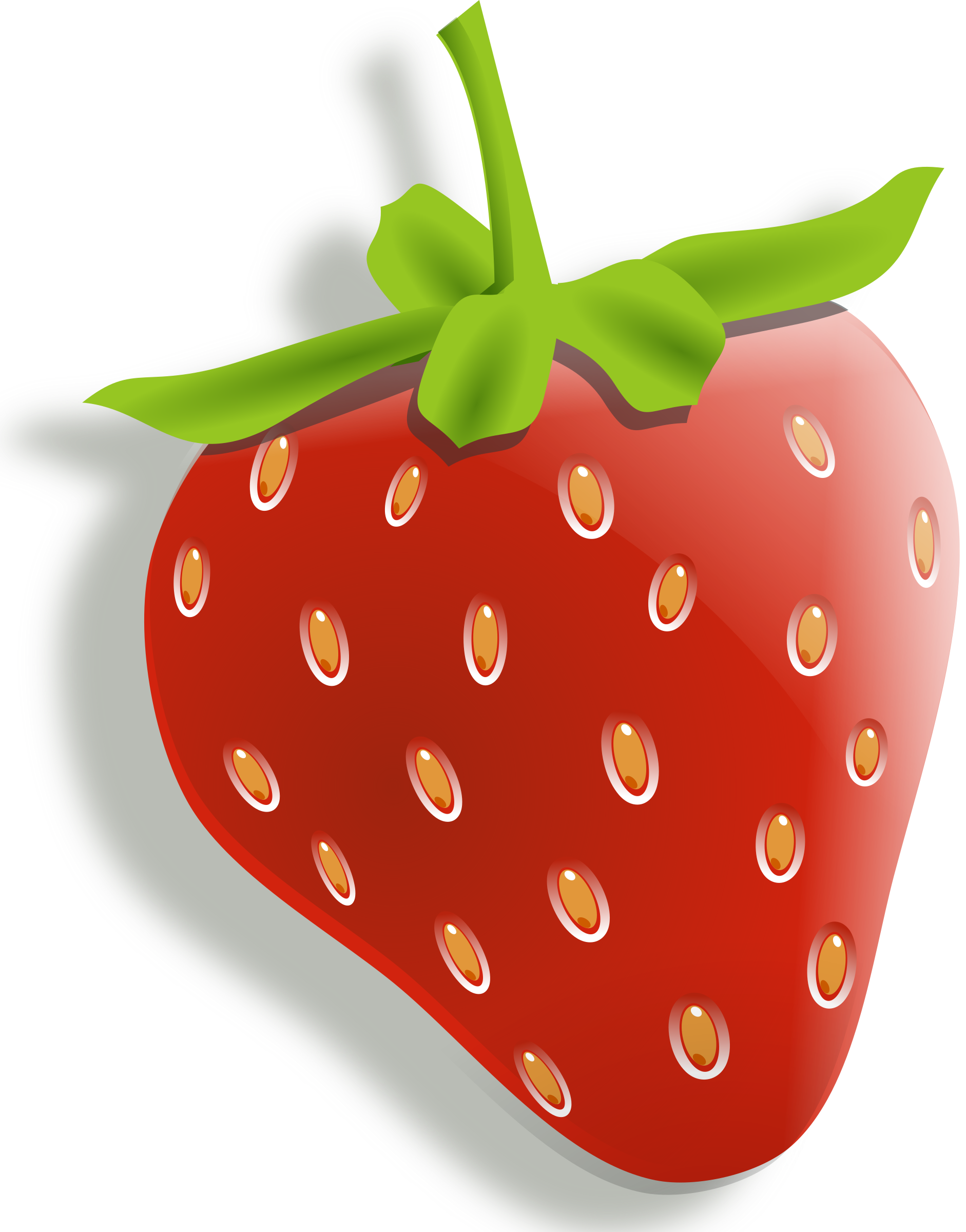clip art black and white Clipart strawberry big image. Drawing strawberries cartoon