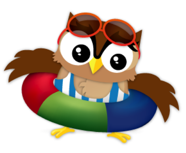 picture royalty free library Summer Clipart owl