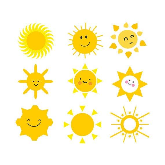graphic download Clipart sun. Svg face clip art