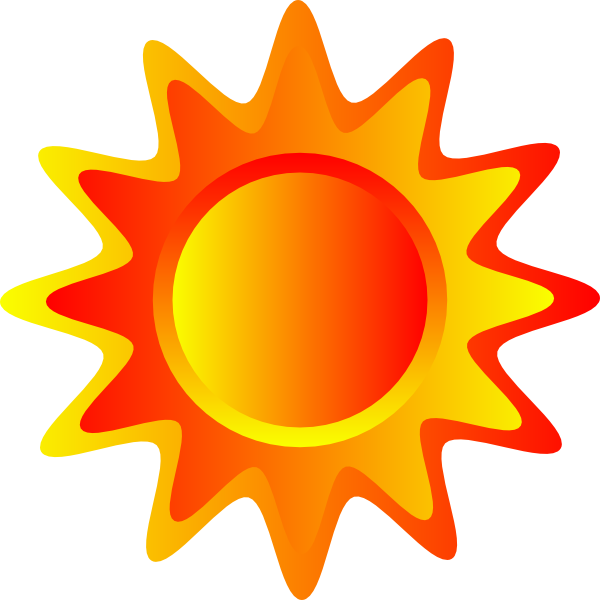 png library stock Sun Clipart orange