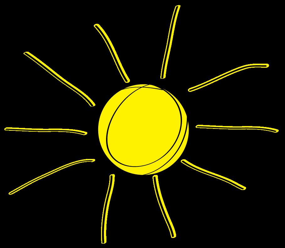 svg royalty free stock Half sun . Sunshine clipart