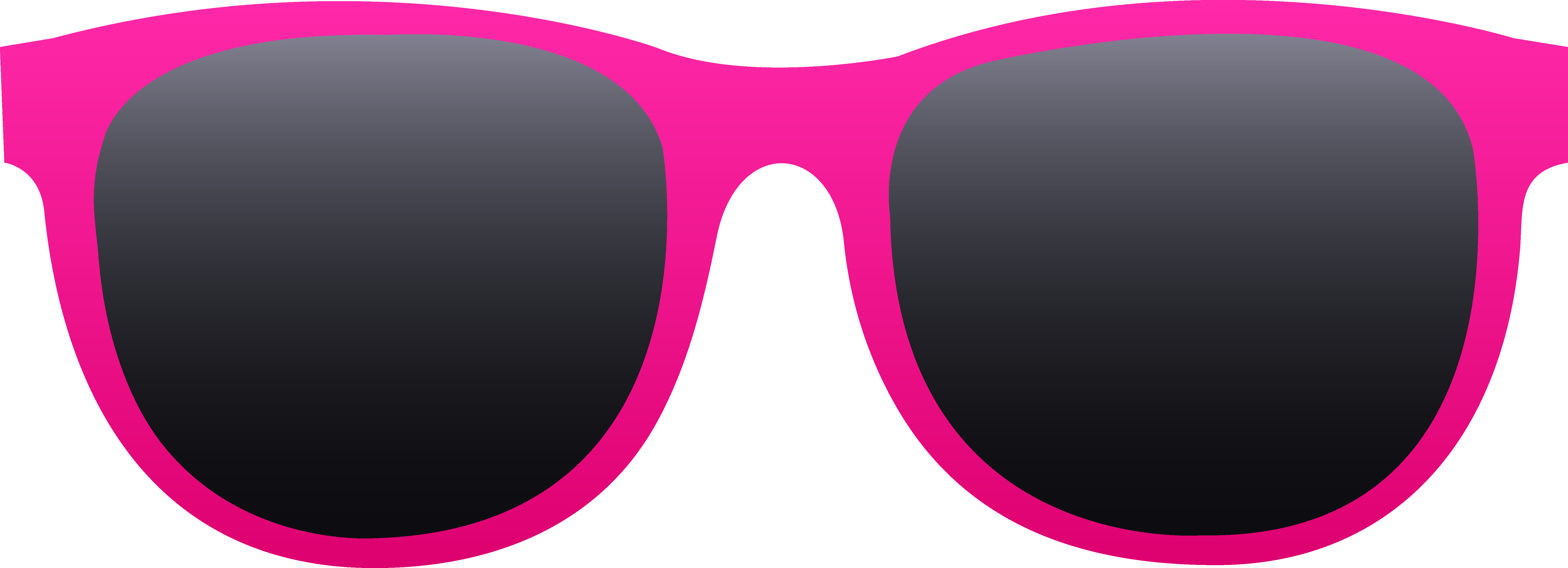 picture black and white stock Free clip art of a pair of hot pink sunglasses