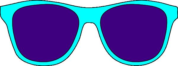 vector freeuse Sun with sunglasses clip. Goggles clipart glares