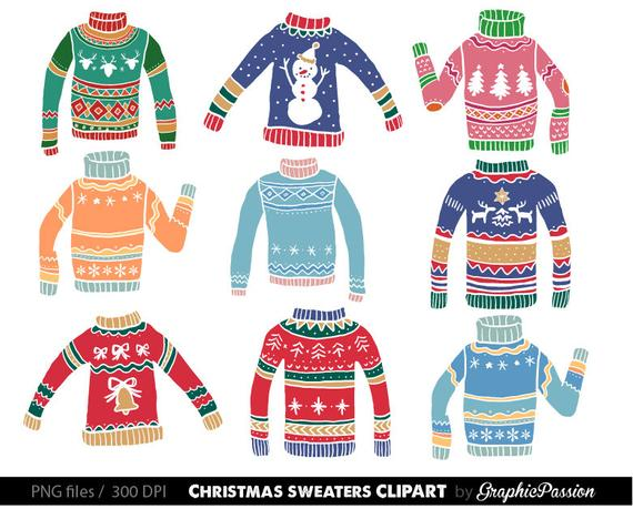 picture free library Ugly christmas graphics digital. Clipart sweater