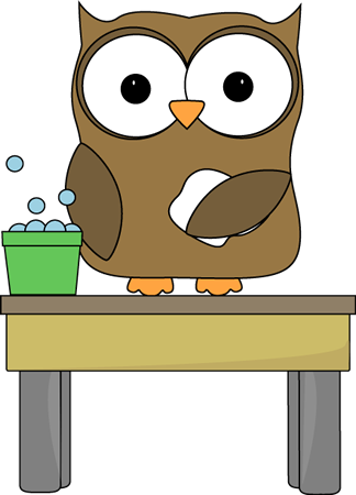 clip royalty free Owl Table Washer Clip Art