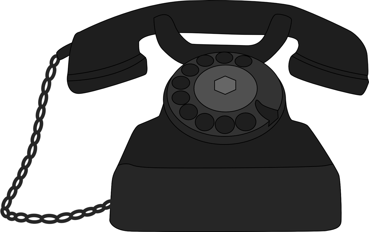 png transparent library Old . Telephone clipart.