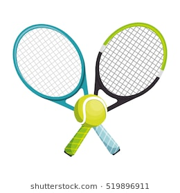 clip art black and white library  clipartlook. Clipart tennis