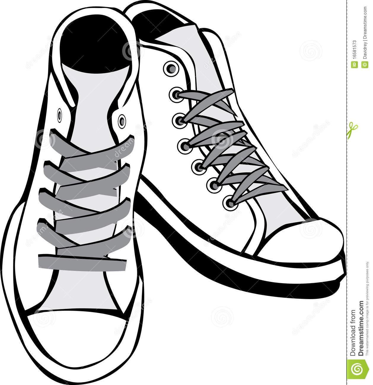 clip art transparent Shoe black and white. Clipart tennis shoes