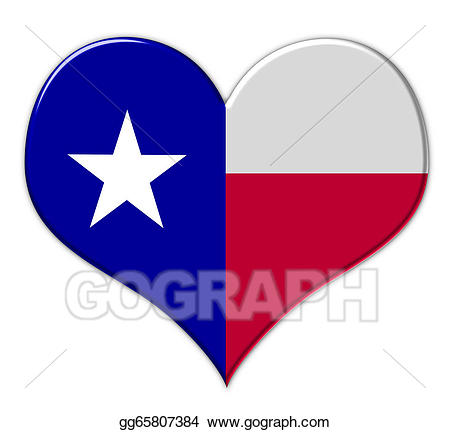 freeuse library Heart stock illustration gg. Clipart texas