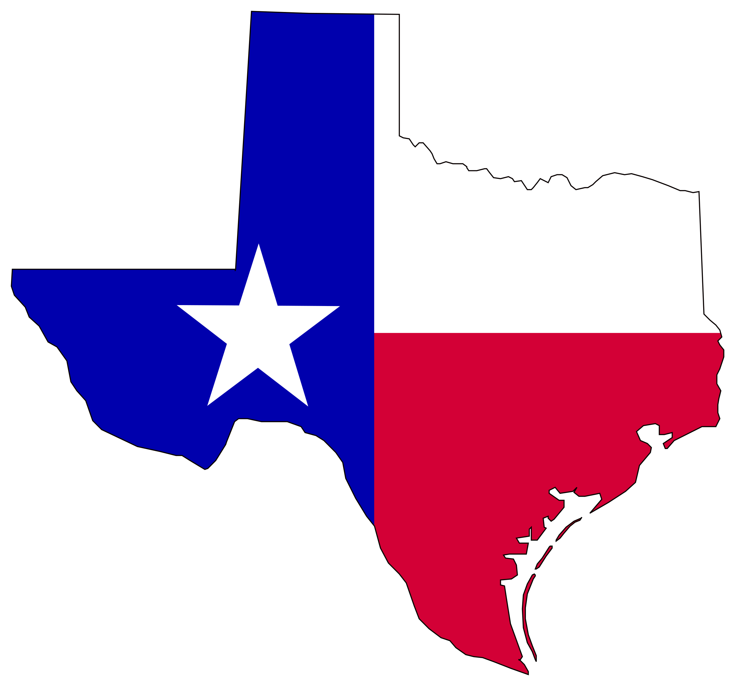 clip art free stock Clipart texas. Flag of in big