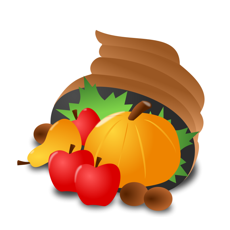 vector library stock Thanksgiving clipart borders. Free day graphics