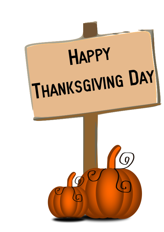 png black and white stock Thanksgiving Clipart