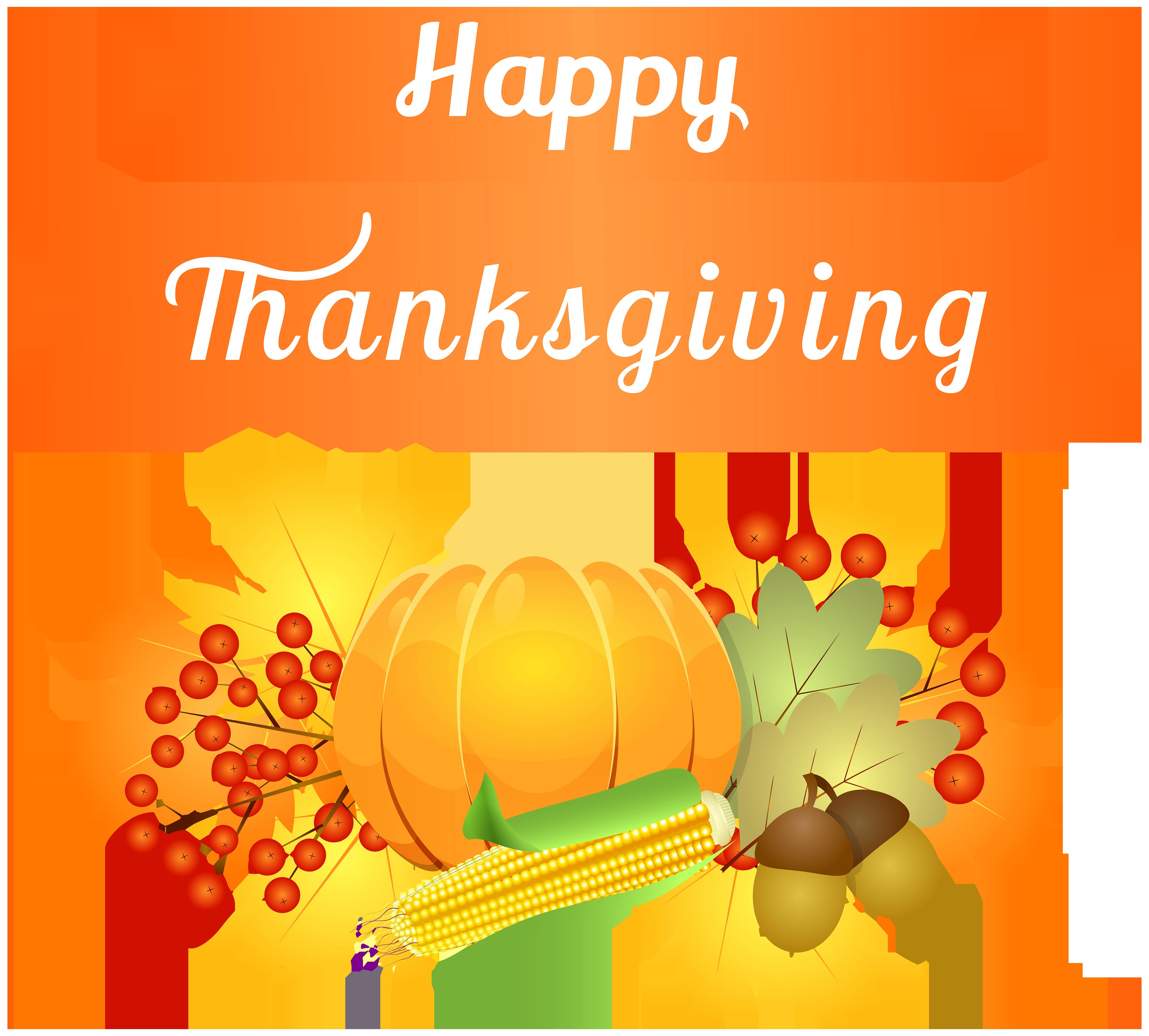 picture transparent download Happy decoration png image. Thanksgiving clipart
