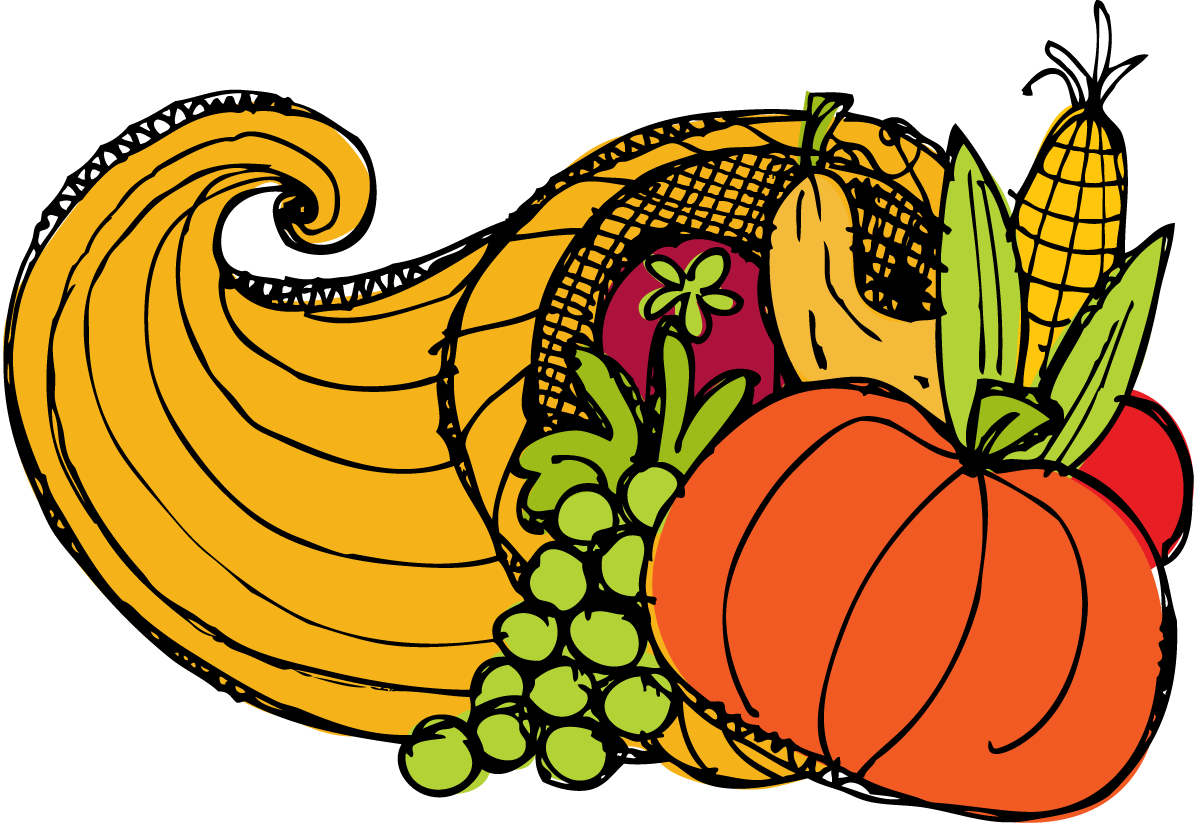 banner free library  collection of thanksgiving. Cornucopia clipart luncheon