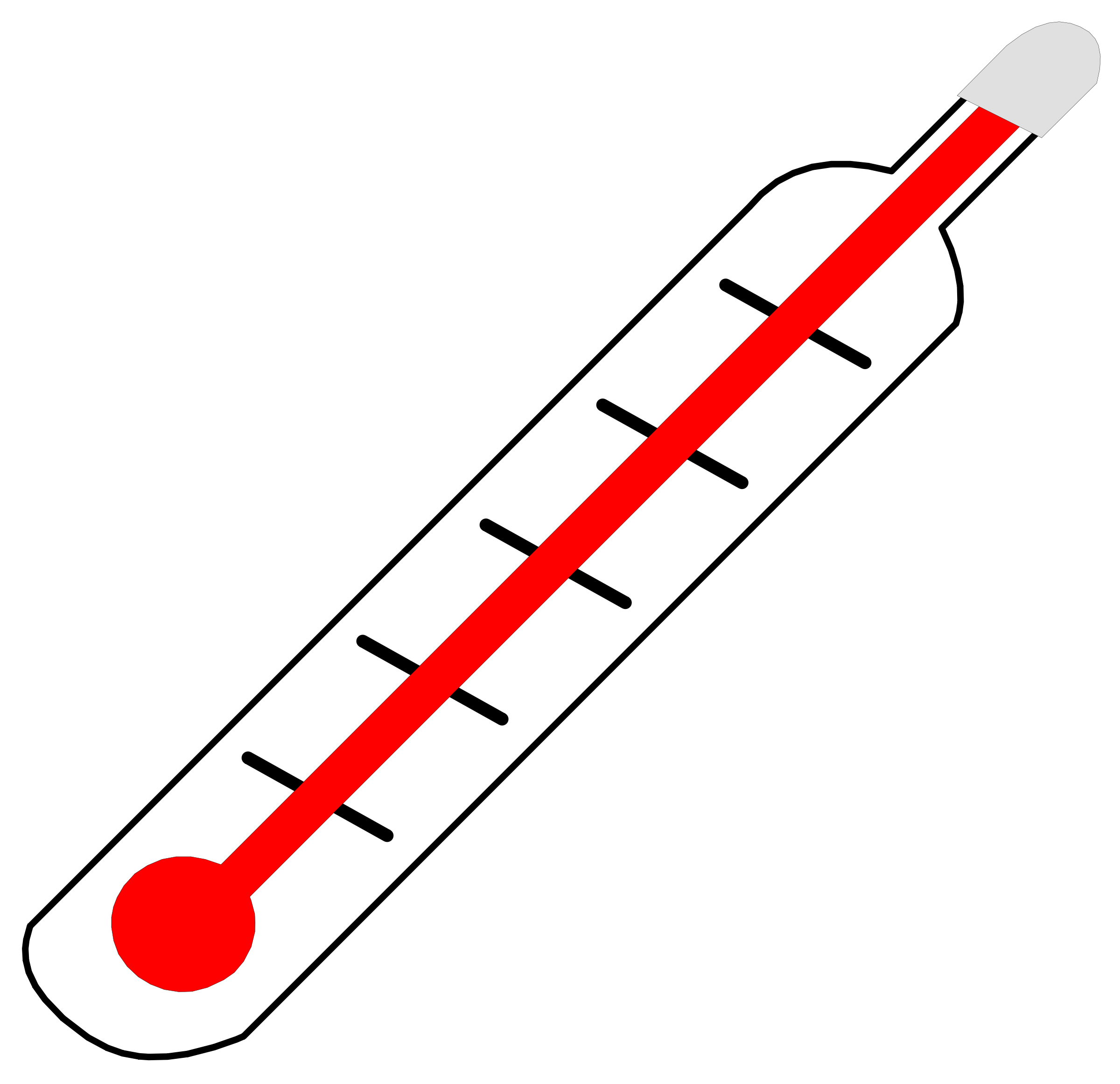 clipart transparent stock thermometer Clipart