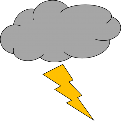 clip art black and white Thunderstorm picture images . Clipart thunder and lightning