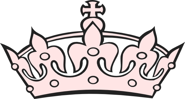 picture royalty free stock Pink clip art at. Clipart tiara